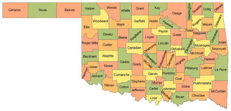 Leflore County Oklahoma Map.Oeqa Access Oklahoma Educational Profiles 2017 District School Reports